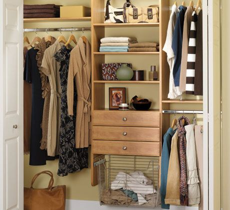 Closet organization closet organization tips and space - Space saving closet ideas ...