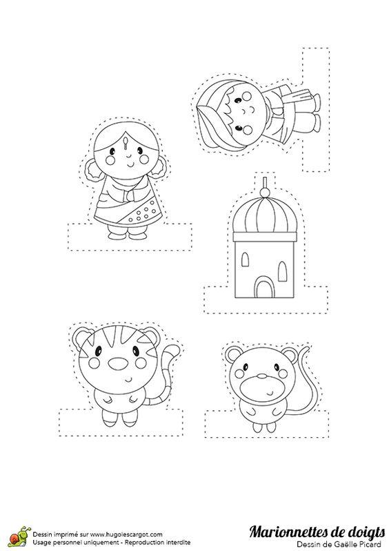 Pinterest le catalogue d 39 id es - Marionnettes a doigts a imprimer ...