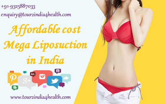 Quality mega liposuction in India at Affordable Rates