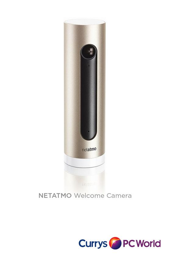 View our smart range. Take control of  your home.  Control your security remotely with the Netatmo Welcome Camera with facial  recognition.