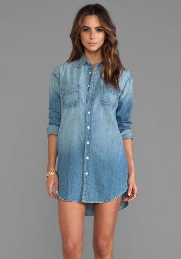 distressed shirt manow shirt shirt dress dress in brand manow dress ...