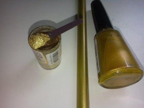 Tinta spray dourada para mdf