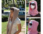 Scoodie - Easy Crochet Pattern. $5.75, via Etsy.