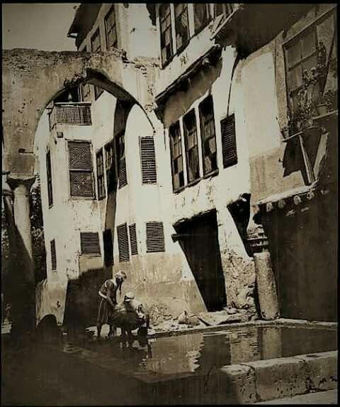 دمشق 1909 منطقة الكلاسه قرب ضريح صلاح الدين الايوبي Damascus Syria Damascus Syria