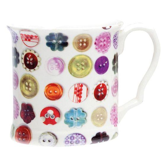 Avoca Buttons Mug
