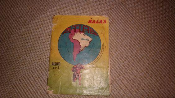 Album Balas Nº 1 - Atlas Do Brasil - Anos 50 - Falta 1 Fig. - R$ 109,00 no MercadoLivre