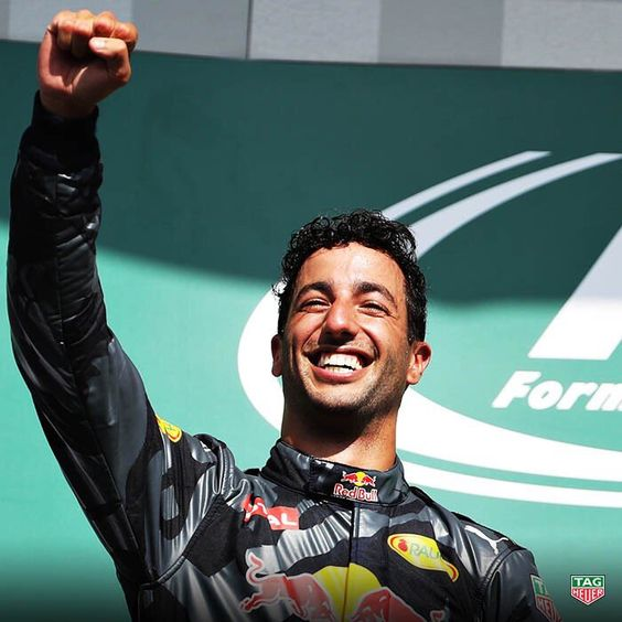 (3) Twitter Congrats to @redbullracing's @danielricciardo for his awesome performance, taking 2nd place at the #BelgianGP!