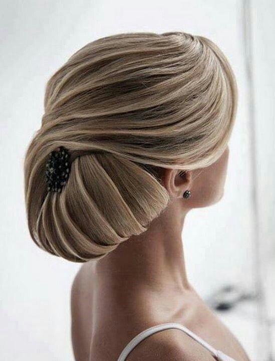 coiffure : Chignon pour mariage, soirée ou cérémonie sur cheveux ...