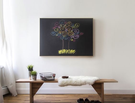 This is an amazing combination of a smart speaker which hangs on your wall and looks like a simple canvas art otherwise.