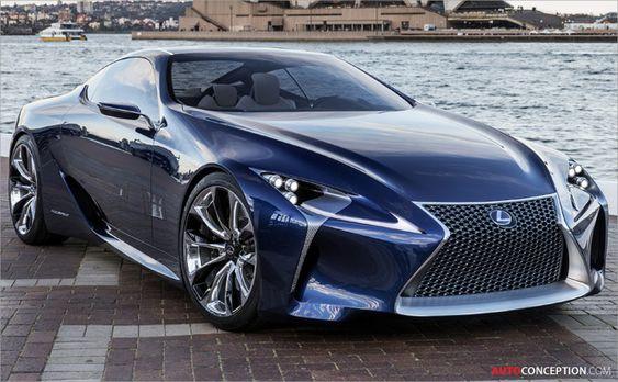 Lexus Reveals New LF-LC Blue Concept at Australian International Motor Show