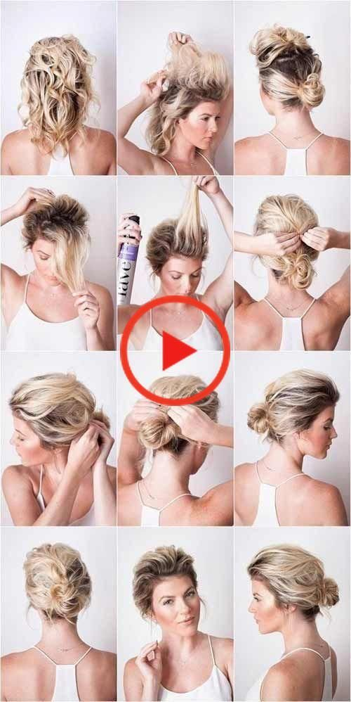 20 Incredible Diy Short Hairstyles Shorthair 20 Incredible Diy Short Hairstyles Shorthair 2 In 2020 Selbstgemachte Frisuren Haar Styling Styling Kurzes Haar