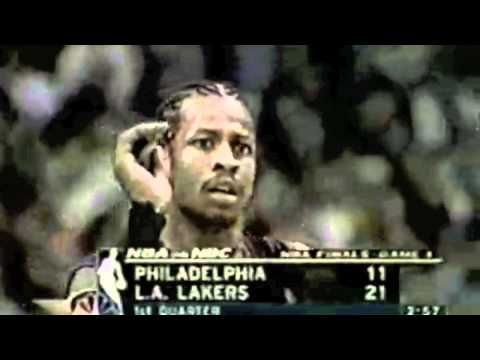 Allen Iverson. The best small guard!