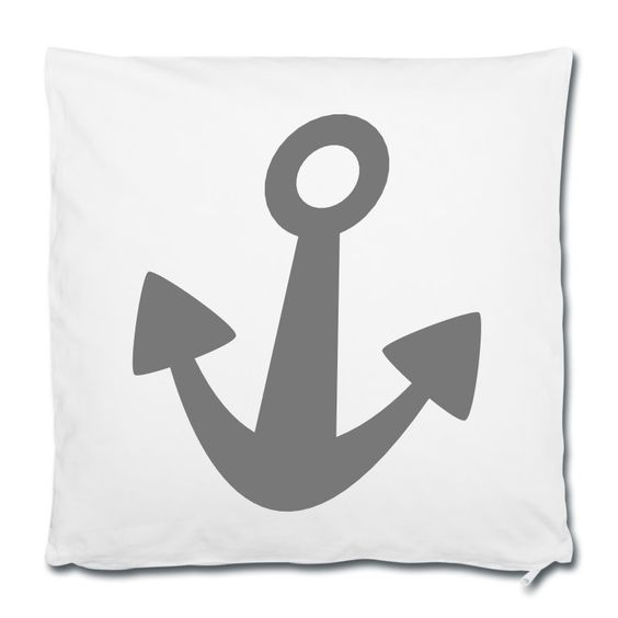 Einfach rauf auf's Schiff und sich die Meeresbrise um die Nase wehen lassen ... geht auch in der Großstadt - mit SCHIFFAHOI •Kissenbezug 40 x 40 cm