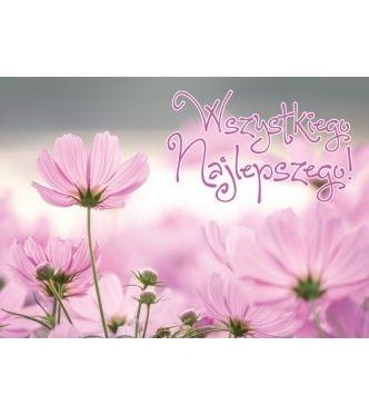 Kartka Na Urodziny Z Efektem Trojwymiarowym 3d Kartka Urodzinowa Kukartka Karnet 3dv 116 Wszystkiego Najlepszego Kwiaty 201 Happy Birthday Birthday Flowers