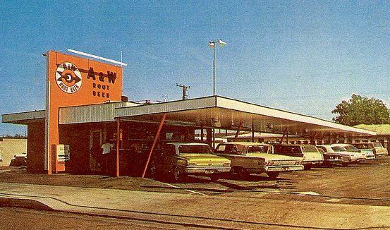 1960s Drive In Restaurants Drive In Orange California