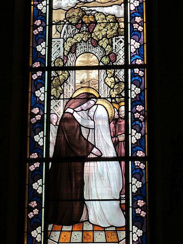 Vitraux de Maurice Denis (1901-1903) - Eglise Sainte-Marguerite, Le Vésinet