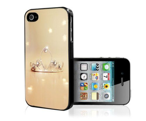 cool Princess Tiara Rubber Silicone TPU Cell Phone Case (iPhone 5 5s)