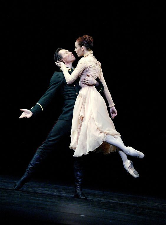 Sylvie Guillem danced with Nicolas Le Riche in MacMillan's Winter Dreams in another triple bill for the Royal. Photograph: Tristram Kenton