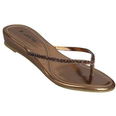 Lava Women's Blast Sandals Flip Flops Shoes Available in Silver Gold or Bronze | eBay $42
