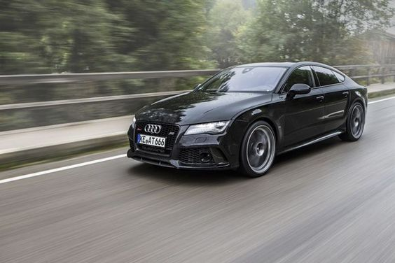 2013 Audi RS7 By ABT Sportsline Front Side