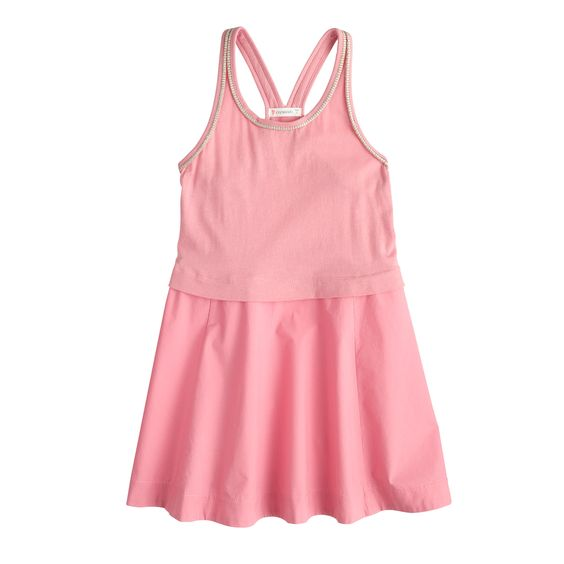 Girls' racerback tank dress : everyday dresses | J.Crew