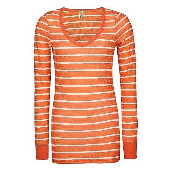BKE Stripe T-Shirt ($16) ❤ liked on Polyvore
