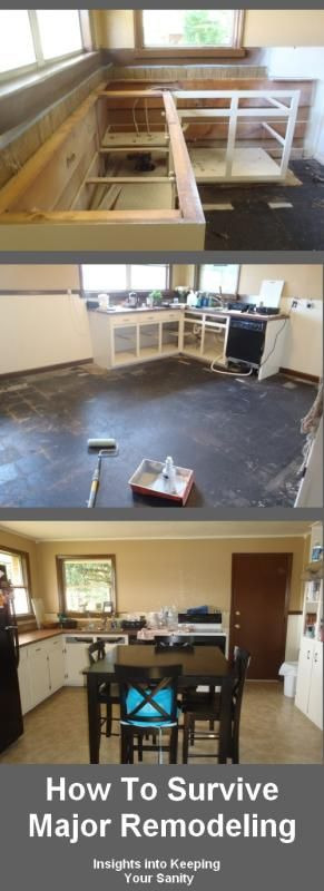 Surviving through a remodel whether its a kitchen, a bathroom, or the whole house is tough. I'm sure many of you can attest to this fact and we will be the fi
