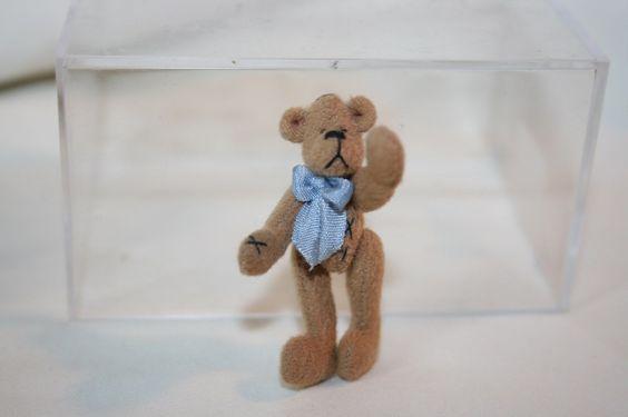 "Paulette Svec - 1 5/8""  teddy bear"