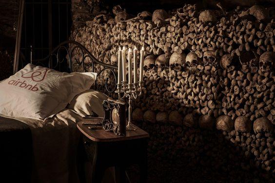 Übernachten in den Katakomben von Paris