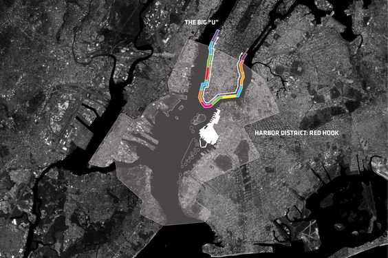 Harbor District: Red Hook - A zone of growth and extreme vulnerability.