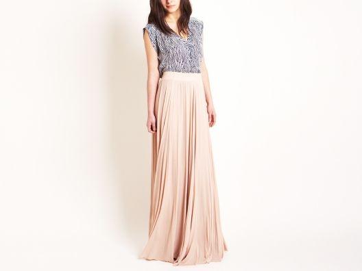 Maxi Rib Skirt by Rachel Pally from Molly Sims on OpenSky