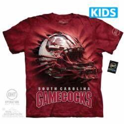 University of South Carolina Gamecocks Kids T-shirt | Helmet Breakthrough