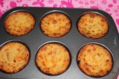 Twice Baked Crispy Mashed Potatoes recipe is delicious … No Seriously! Delicious! What makes it even better is the Cooking whatever you like in your baked potatoes* A large bowl mix left over mashed potatoes with your favorite baked potato ingredients. Once everything is well combine spray muffin pan with cooking spray then fill each muffin well with the mashed potato mixture then bake at 400 for 30-45 minutes or until potatoes are brown and crispy.