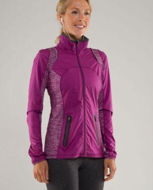 run:featherweight hybrid jacket | women's jackets | lululemon athletica