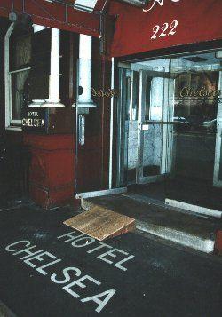 Chelsea Hotel.