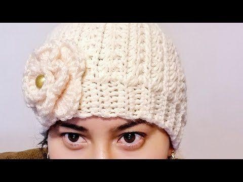 invicto x colores delicados rico y magnífico Gorro Punto Estrella a Crochet Para Mujer 💁 ♀️ - YouTube ...