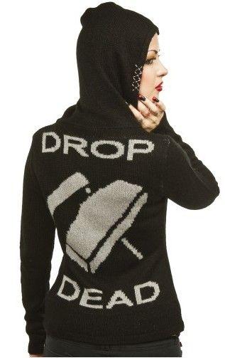 Drop Dead Cardigan