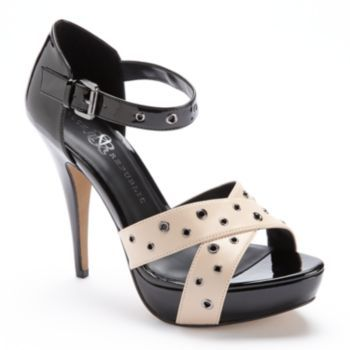Rock & Republic Banded Platform High Heels - So excited, just bought these at Kohl's - IN LOVE!