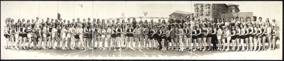 Long Beach Bathing Beauty Parade, años 20.