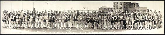Long Beach Bathing Beauty Parade, años 20.