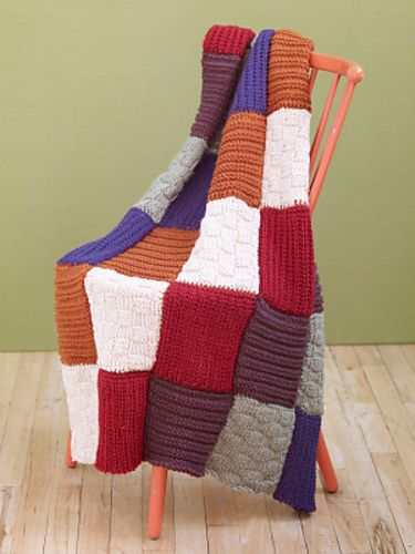 Loom knit and afghans on pinterest