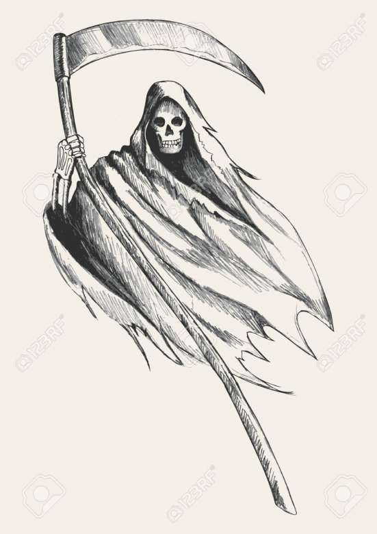 Pin By Elle Galan On Grim In 2020 With Images Reaper Drawing