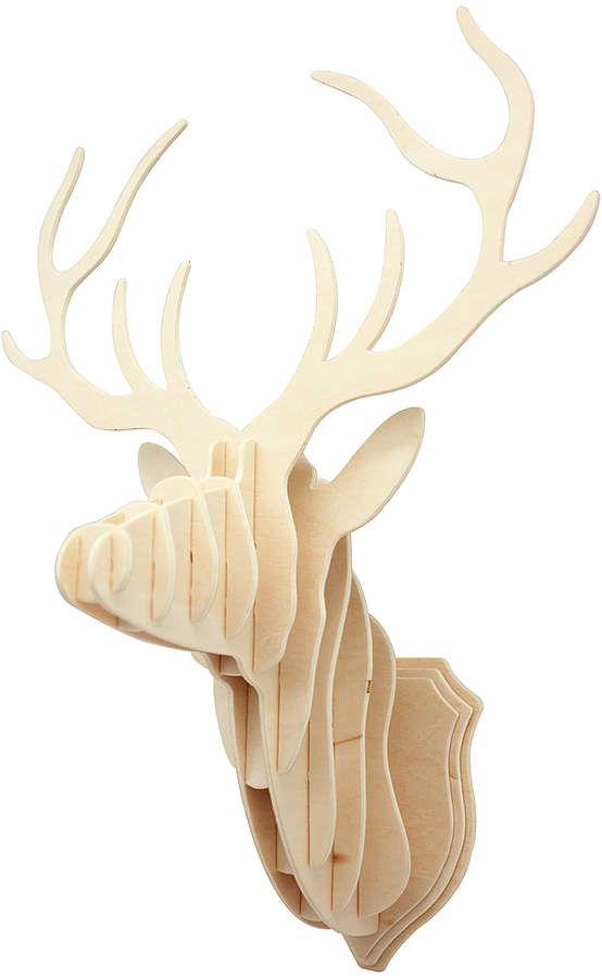 3D Wooden Puzzle Hands Craft DIY Christmas Deer for Kids and Christmas deer