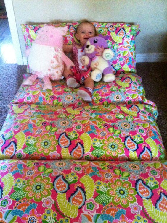 Five Pillow- Pillowcase Mattress. $67.99, via Etsy. by BibbityBobbityBabies