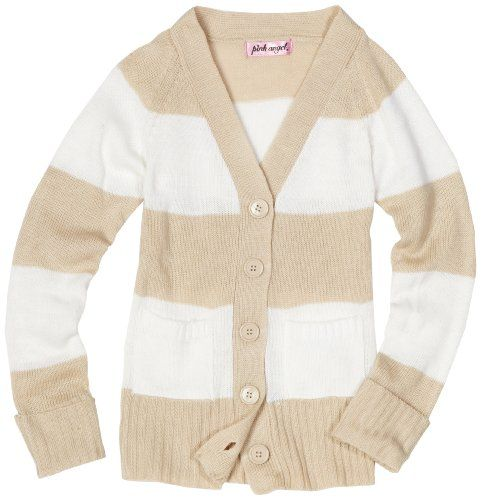 Pink Angel Girls 7-16 Stripe Sweater, Cottonwood/Offwhite, Medium Pink Angel,http://www.amazon.com/dp/B005EJIXD8/ref=cm_sw_r_pi_dp_q711sb1JSDANEGXW