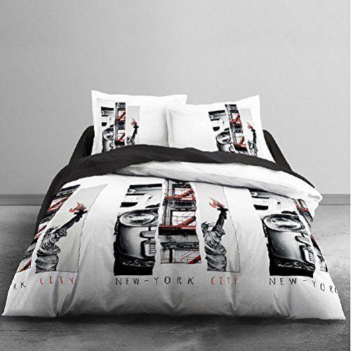 Nyc Light Bedclothes 220 X 240 Cm Bedclothes Bed Duvet Cover Sets