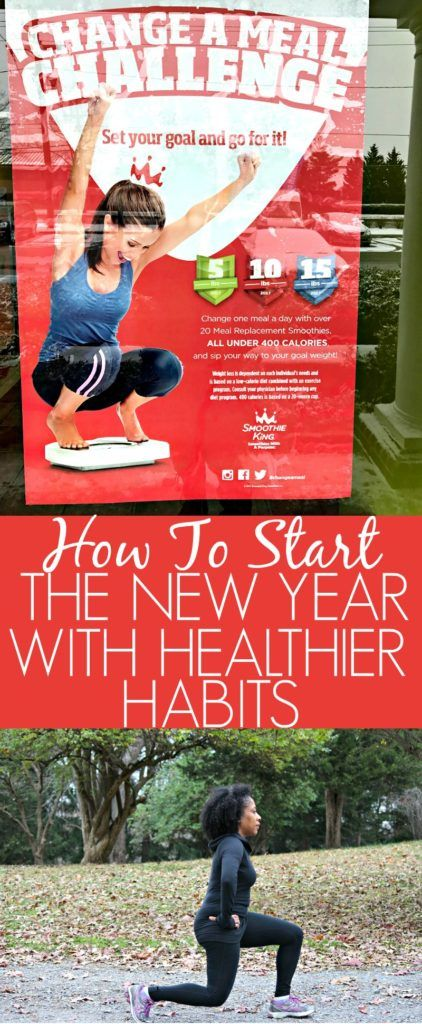 hOW tO start your new year with healthier habits #ChangeAMeal