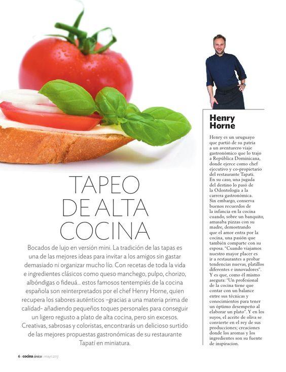 Cocina unica mayo 2013 by Grupo Diario Libre, S. A. - issuu