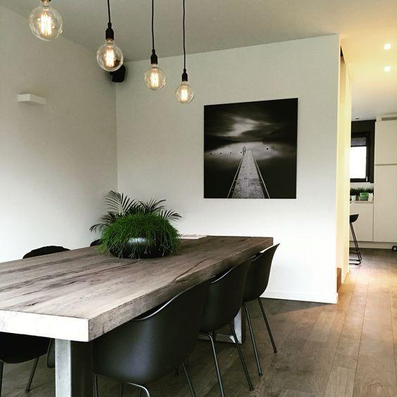 Moderne eetkamer verlichting moderne luster voor boven eetkamer design decoratie referenties - Idee decoratie eetkamer ...