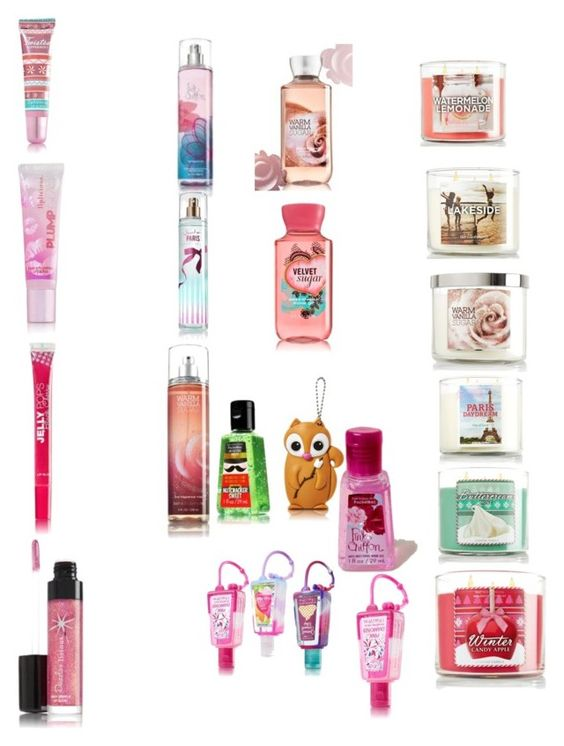"""Bath & body works"" by pretty-girl-prep ❤ liked on Polyvore featuring beauty"